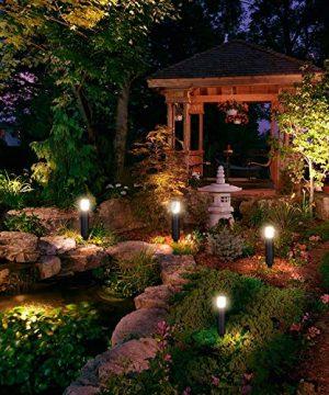 LNDXING Landscape Lights 12V 3W Low Voltage Outdoor Landscape Lights Lighting 4 Pack IP65 Waterproof 3000K Warm White Pathway Garden Yard Patio Lamp 0 1 300x360