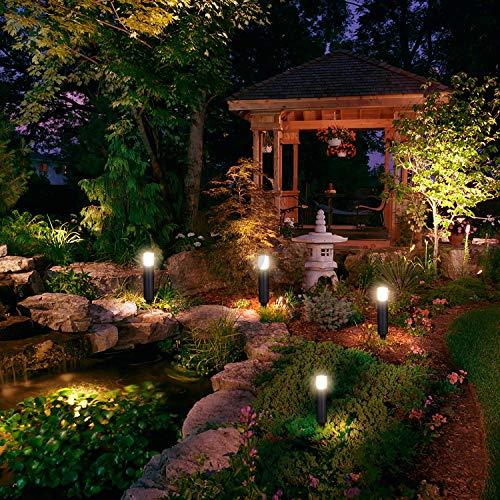 LNDXING Landscape Lights 12V 3W Low Voltage Outdoor Landscape Lights Lighting 4 Pack IP65 Waterproof 3000K Warm White Pathway Garden Yard Patio Lamp 0 1