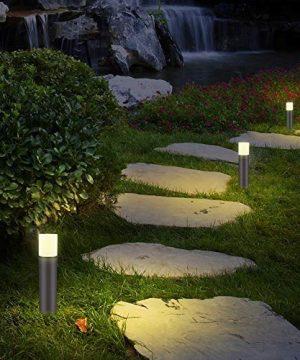 LNDXING Landscape Lights 12V 3W Low Voltage Outdoor Landscape Lights Lighting 4 Pack IP65 Waterproof 3000K Warm White Pathway Garden Yard Patio Lamp 0 4 300x360