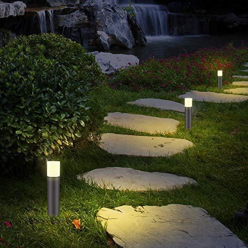 LNDXING Landscape Lights 12V 3W Low Voltage Outdoor Landscape Lights Lighting 4 Pack IP65 Waterproof 3000K Warm White Pathway Garden Yard Patio Lamp 0 4