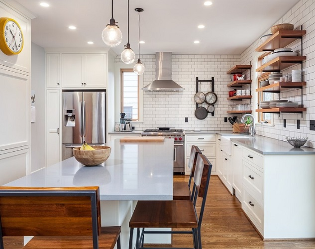 Ladd's Addition Kitchen by Right Arm Construction