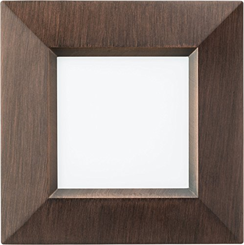 Lithonia Lighting WF4 SQ S LED 27K Orb M6 107W Ultra Thin Square Dimmable LED Recessed Ceiling Light With Smooth Trim 2700K Warm White Oil Rubbed Bronze 0 0
