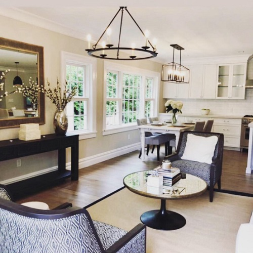 Modern Farmhouse Living Room by DLT Interiors-Debbie Travin