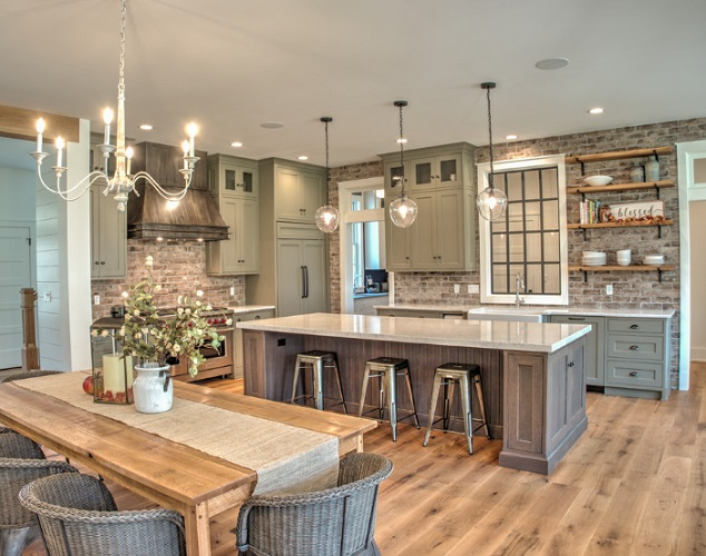 New Home in Orefield by Laslo Custom Kitchens Inc.