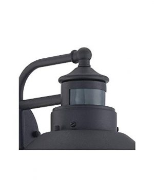 Oberlin Rustic Outdoor Wall Light Black Exterior Fixture Motion Security Dusk To Dawn For House Deck Porch John Timberland 0 1 300x360
