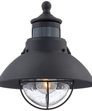 Oberlin Rustic Outdoor Wall Light Black Exterior Fixture Motion Security Dusk To Dawn For House Deck Porch John Timberland 0 2 300x360