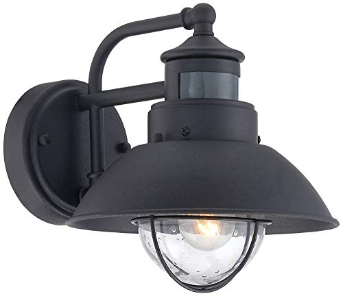 Oberlin Rustic Outdoor Wall Light Black Exterior Fixture Motion Security Dusk To Dawn For House Deck Porch John Timberland 0 3