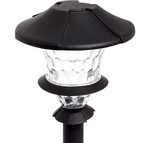 Paradise GL33999 Low Voltage Cast Aluminum 1W Path Light Set Black 0 0