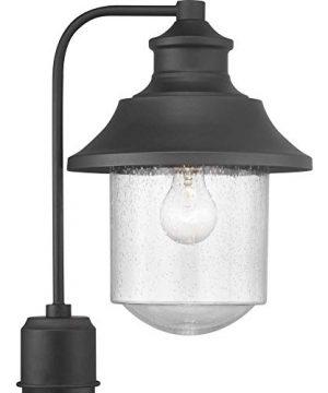 Progress Lighting P540019 031 Weldon Collection One Light Post Lantern Black 0 300x360