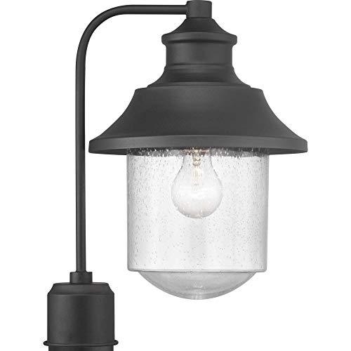 Progress Lighting P540019 031 Weldon Collection One Light Post Lantern Black 0
