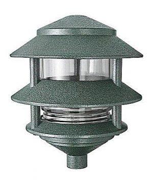 RAB Lighting LL322VG 3 Tier Lawn Path Fixture A 19 Type 75W Power 1220 Lumens 120VAC Verde Green 0 300x360