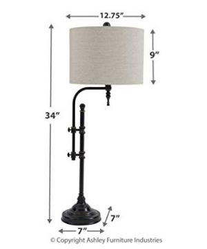 Signature Design By Ashley Anemoon Table Lamp Industrial Vintage Style Black 0 2 300x360