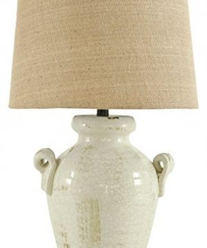 Signature Design By Ashley Emelda Table Lamp Vintage Casual Cream 0 300x360