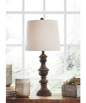 Signature Design By Ashley Magaly Poly Table Lamps Set Of Two Brown 0 300x360