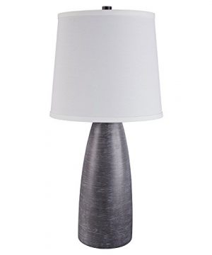 Signature Design By Ashley Shavontae Table Lamps Set Of 2 Modern Contemporary Gray 0 0 300x360