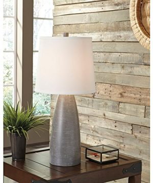Signature Design By Ashley Shavontae Table Lamps Set Of 2 Modern Contemporary Gray 0 2 300x360