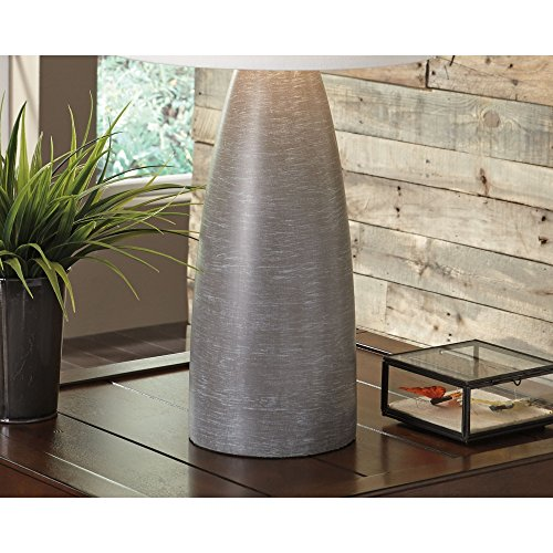Signature Design By Ashley Shavontae Table Lamps Set Of 2 Modern Contemporary Gray 0 4