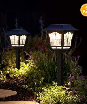 Solar Pathway Lights Outdoor Or Solar Lights Outdoor Or Solar Garden Lights Or Solar Landscape Lights Or Solar Lights For YardPatioWalkwayDrivewayLawndcor 6 0 300x360