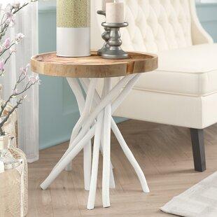 Stilwell+Solid+Wood+Tree+Stump+End+Table