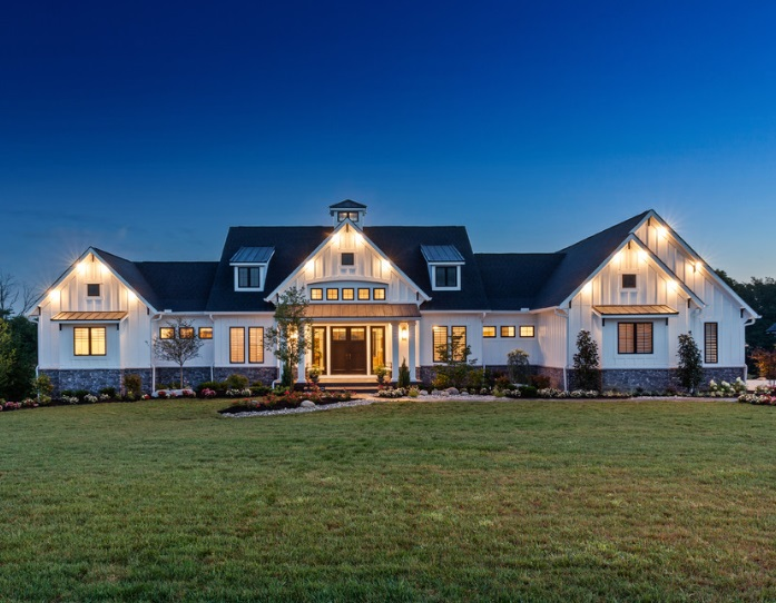 The Savannah Best of Ohio Custom Home by Justin Doyle Homes