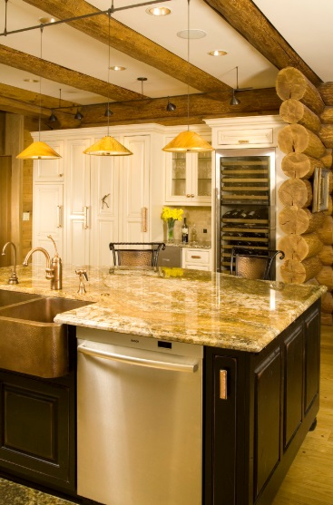 Warm in the Northwest by Signature Design & Cabinetry LLC