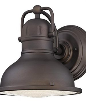 Westinghouse Lighting 6203400 Orson One Light LED Outdoor Wall Fixture Oil Rubbed Bronze Finish With Clear Prismatic Lens 0 300x360