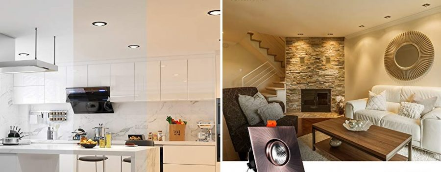 farmhouse recessed lighting