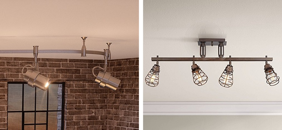 farmhouse track lighting