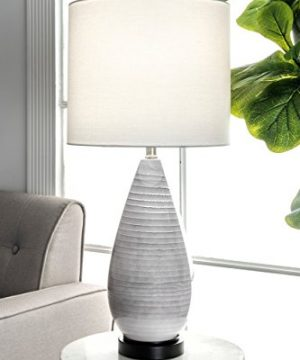 NuLOOM Home NPT21AA Justina Table Lamp 27 Height Gray 0 300x360