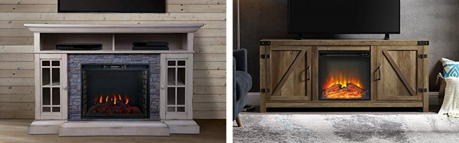 rustic farmhouse fireplace tv stands