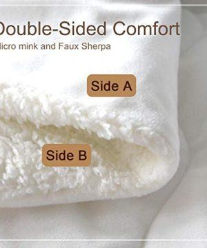 ARIGHTEX Super Soft Sherpa Comforter Bed Set 3D Lightweight Fuzzy Duvet Blankets Polyester Filler Bedspreads With 2 Pillow Shams Orange Fox Twin 0 0 300x360
