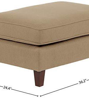 Amazon Brand Stone Beam Blaine Modern Ottoman 362W Beige 0 2 300x330