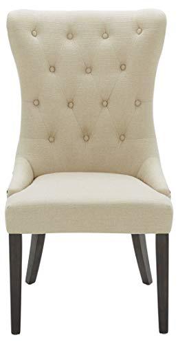 Amazon Brand Stone Beam Dining Chair With Deep Tufting 42H Hemp 0 0
