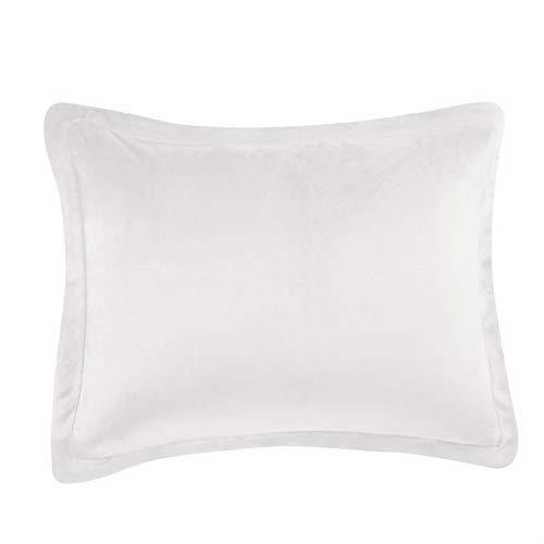 AmazonBasics Ultra Soft Micromink Sherpa Comforter Bed Set Twin Cream 2 Piece 0 1