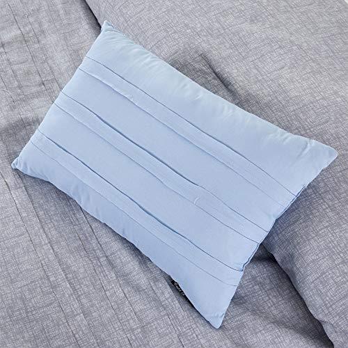 Amrapur Overseas 10 Piece Bryan Printed Comforter Set Queen Grey 0 2