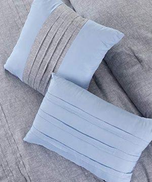 Amrapur Overseas 10 Piece Bryan Printed Comforter Set Queen Grey 0 4 300x360
