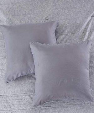 Amrapur Overseas 10 Piece Bryan Printed Comforter Set Queen Grey 0 5 300x360