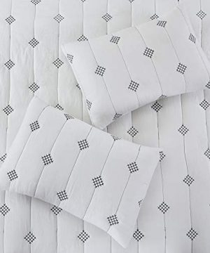 Amrapur Overseas 5 Piece Eve Embroidered Garment Washed Comforter Set Queen Ivory 0 5 300x360
