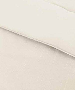 Amrapur Overseas Diana 8 Piece Embellished Comforter Set King Pearl White 0 4 300x360