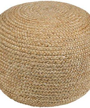 Artistic Weavers Ruiri Pouf 18 X 18 X 18 Khaki 0 300x360