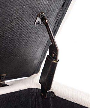 BELLEZE Modern Tufted Storage Ottoman Lift Top Rectangle Footstool Linen Nature 0 2 300x360
