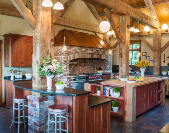 Barn Home by Crown Point Cabinetry