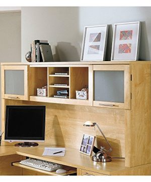 Bush Furniture Somerset L Shaped Desk With Hutch 72W Maple Cross 0 2 300x360