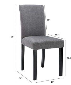 Chairs For Dining Room 6 Mid Century Modern Fabric Upholstered Dining Chairs 0 0 300x360