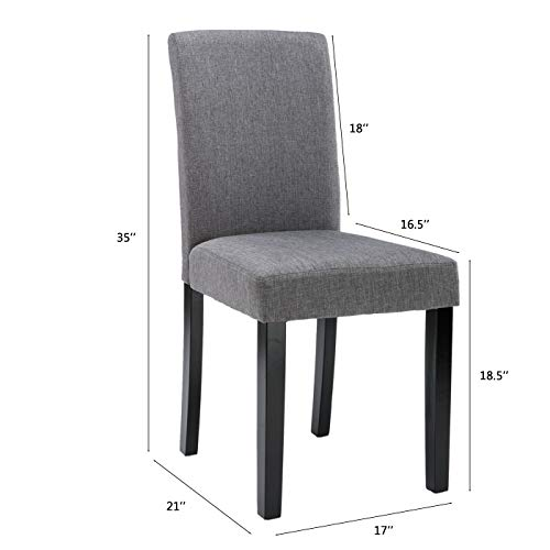 Chairs For Dining Room 6 Mid Century Modern Fabric Upholstered Dining Chairs 0 0