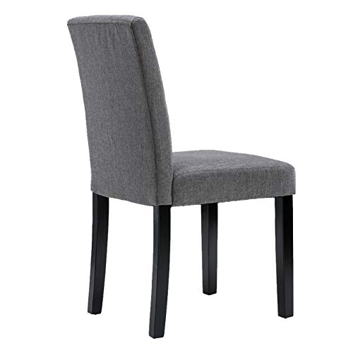 Chairs For Dining Room 6 Mid Century Modern Fabric Upholstered Dining Chairs 0 3