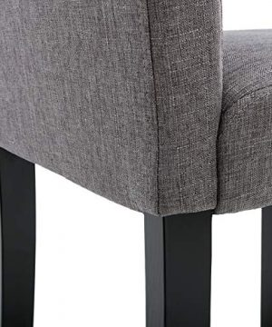 Chairs For Dining Room 6 Mid Century Modern Fabric Upholstered Dining Chairs 0 4 300x360