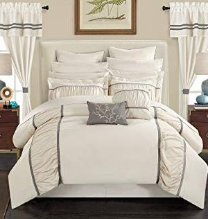 Chic Home Mayan 24 Piece Bed In A Bag Comforter Set King Off White 0 300x316
