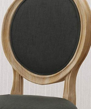 Christopher Knight Home 306409 Reed Upholstered Farmhouse Dining Chairs Black Checkerboard And Dark Gray Set Of 2 0 2 300x360