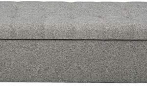 Christopher Knight Home Mission Fabric Storage Ottoman Grey 0 0 300x199